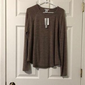 Sweet Romeo Light Brown Sweater